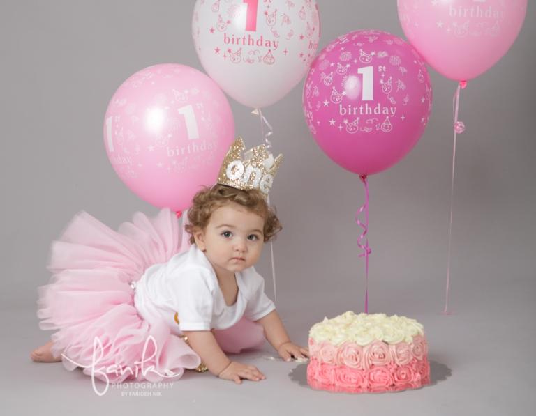 baby s first birthday photoshoot dubai baby photographer fanik